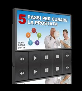 5 passi per curare la prostata