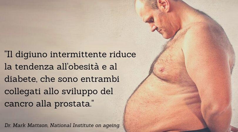 digiuno e cancro alla prostata
