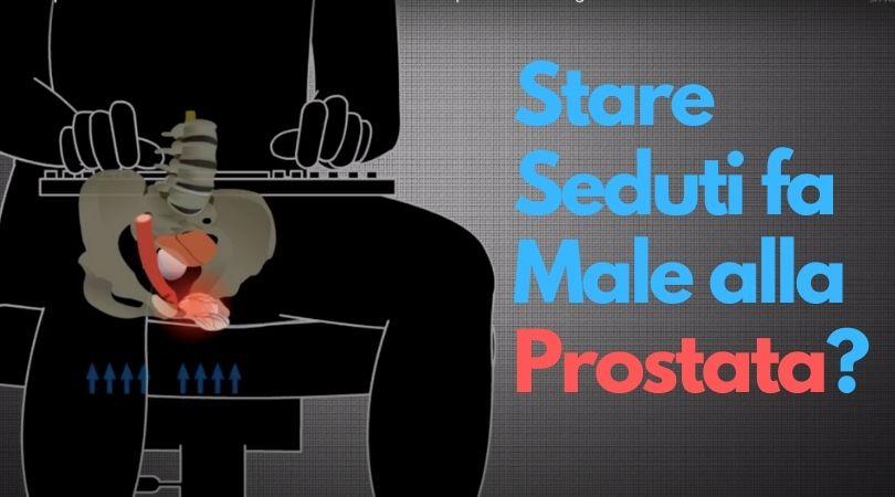 Perché Stare Seduti fa Male alla Prostata?