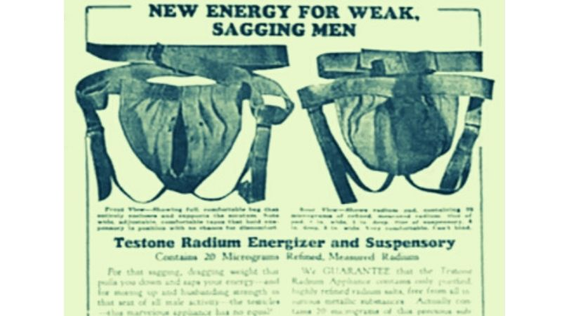 sospensorio radioattivo