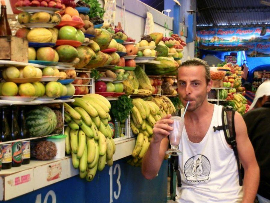 Bolivia frutta al mercato